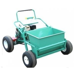 garlock power buggy with gravel spreader