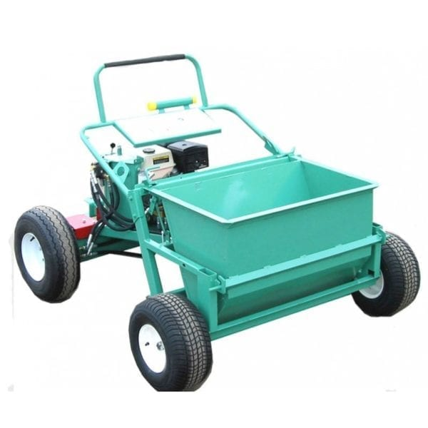 garlock power buggy with gravel spreader