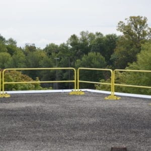 garlock rail guard 200 rail 10 ft 7.5 ft 5 ft