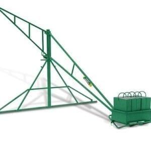 garloco 400 lbs hand swing hoist