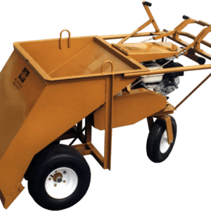 ase wheels under powered gravel spreader