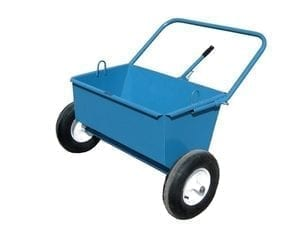 grizzly manual gravel spreader