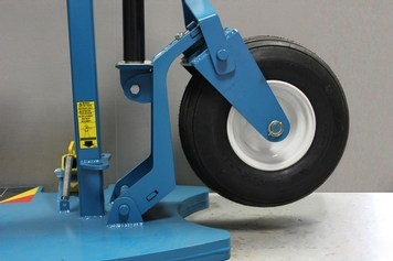 Grizzly Hercules Mobile Fall Protection Cart Flat Free Wheel