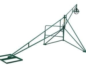 grizzly 300 lbs hand swing hoist