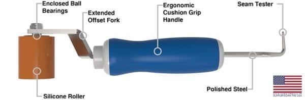 Everhard Roll N Chek seam roller