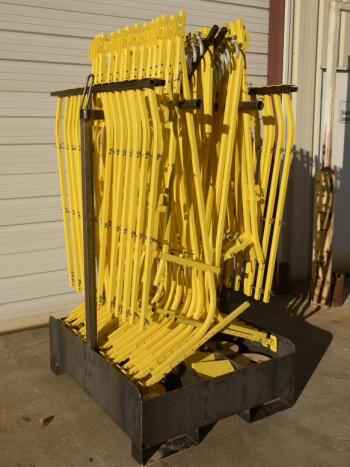 FallBan 400 ft System Steel Storage Crate