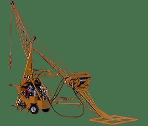 ase 2000 lbs hydraulic swing hoist