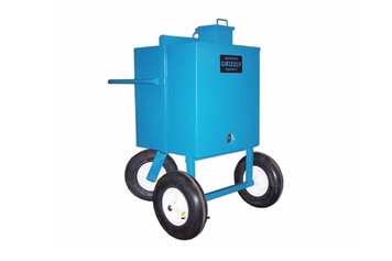 grizzly vertical hot stuff carrier 55 us gallon
