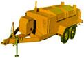 ase 850 gal asphalt kettle