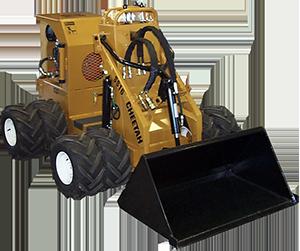 ss 16 cheetah loader with dual wheels
