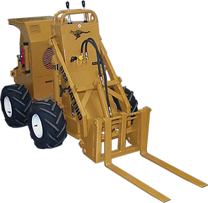 ss 16 cheetah loader with forks