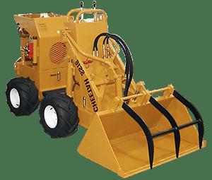 ss 16 cheetah loader with grapple bucket