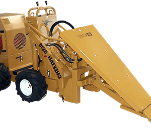 ss 16 cheetah loader with roof remover