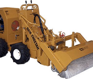 ss 16 cheetah loader with broom