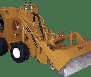 ss 16 cheetah loader with broom