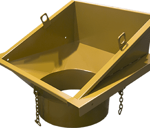 ase trash chute hopper