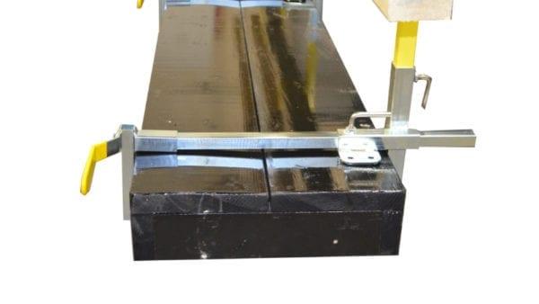 Garlock Parapet clamp railing system